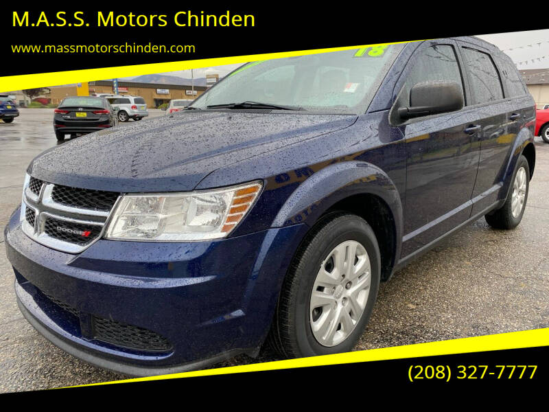 2018 Dodge Journey for sale at M.A.S.S. Motors - West Fairview in Boise ID