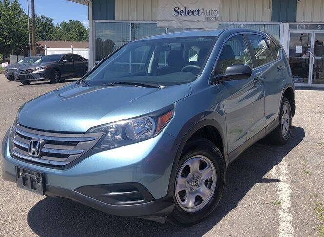 2014 Honda CR-V for sale at Select Auto Imports in Provo UT