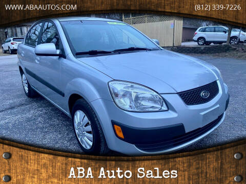 2009 Kia Rio for sale at ABA Auto Sales in Bloomington IN