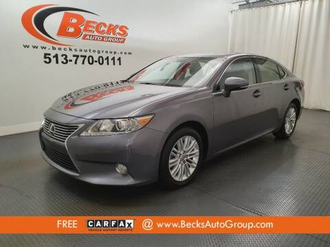 2013 Lexus ES 350 for sale at Becks Auto Group in Mason OH