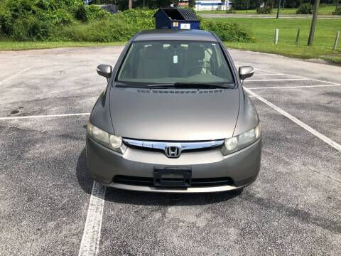 2007 Honda Civic for sale at Louie's Auto Sales in Leesburg FL