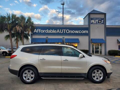 2012 Chevrolet Traverse for sale at Affordable Autos in Houma LA