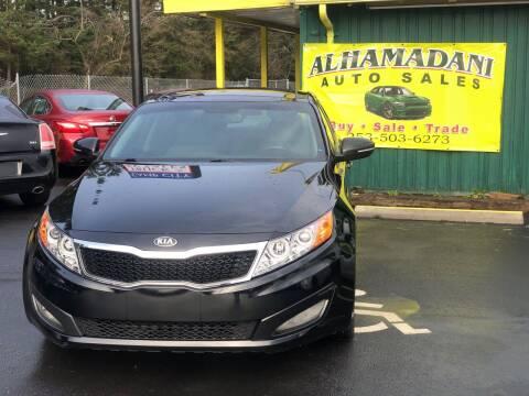 2013 Kia Optima for sale at ALHAMADANI AUTO SALES in Spanaway WA