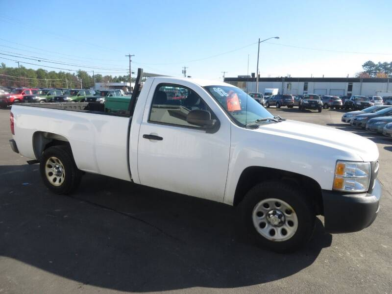 2012 Chevrolet Silverado 1500 4x2 Work Truck 2dr Regular Cab 8 ft. LB - Concord NH