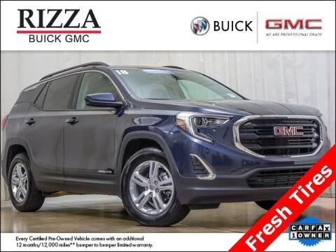 2018 GMC Terrain for sale at Rizza Buick GMC Cadillac in Tinley Park IL