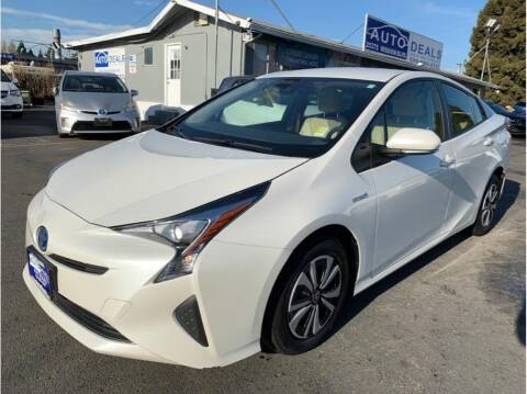 2017 Toyota Prius for sale at AutoDeals in Hayward CA