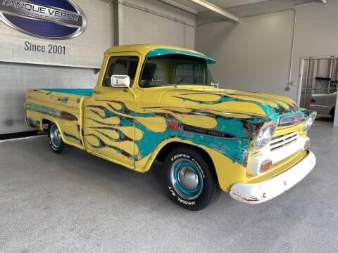 1959 Chevrolet Apache for sale at TANQUE VERDE MOTORS in Tucson AZ