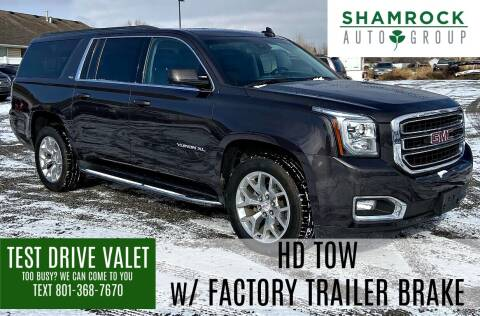 2017 GMC Yukon XL for sale at Shamrock Group LLC #1 in Pleasant Grove UT