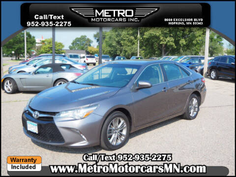 2017 Toyota Camry for sale at Metro Motorcars Inc in Hopkins MN