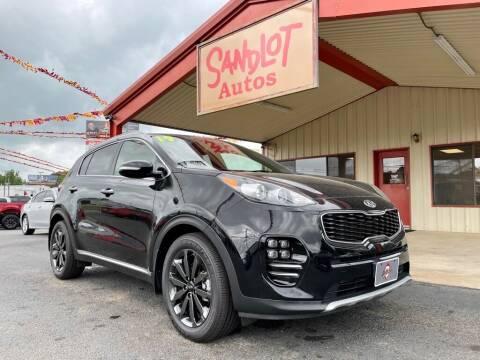 2019 Kia Sportage for sale at Sandlot Autos in Tyler TX