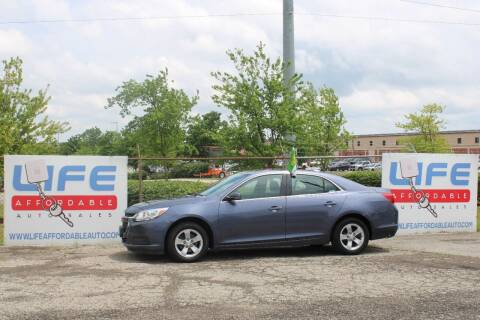 2015 Chevrolet Malibu for sale at LIFE AFFORDABLE AUTO SALES in Columbus OH