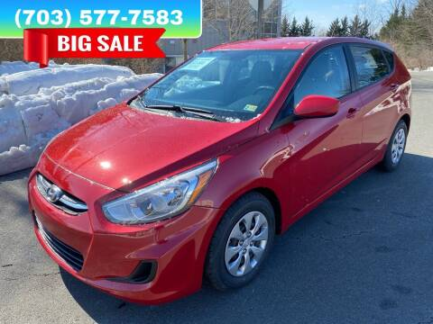 2017 Hyundai Accent for sale at Dreams Auto Group LLC in Sterling VA