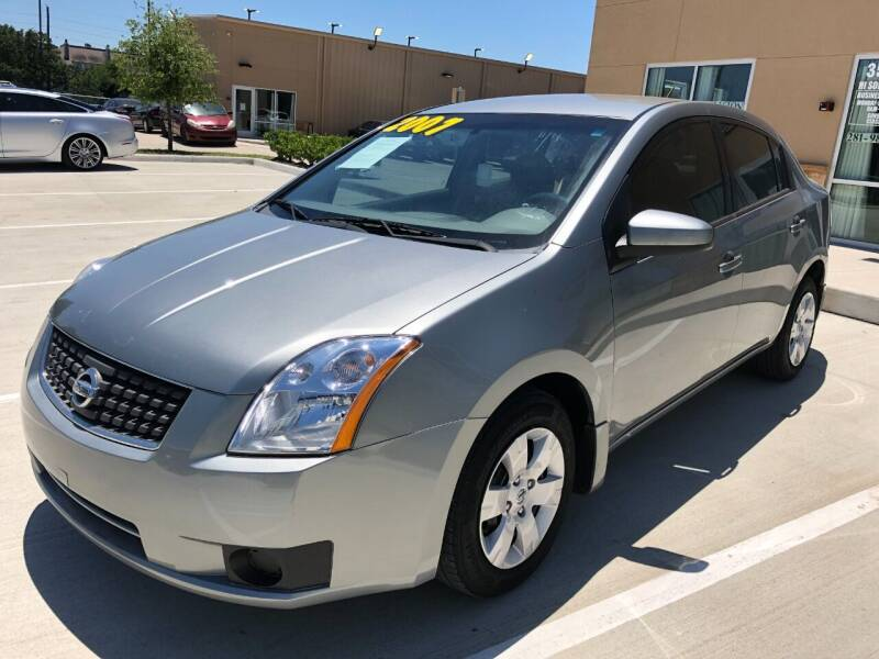 2007 Nissan Sentra for sale at HI SOLUTIONS AUTO in Houston TX
