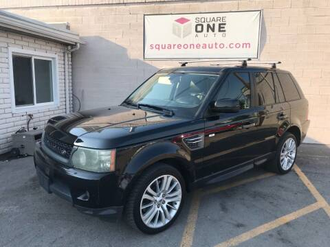2011 Land Rover Range Rover Sport for sale at SQUARE ONE AUTO LLC in Murray UT