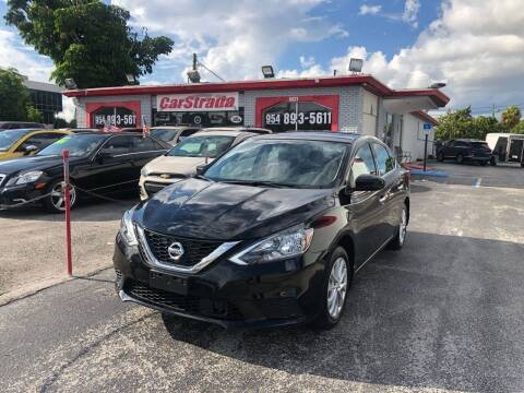 2019 Nissan Sentra for sale at CARSTRADA in Hollywood FL