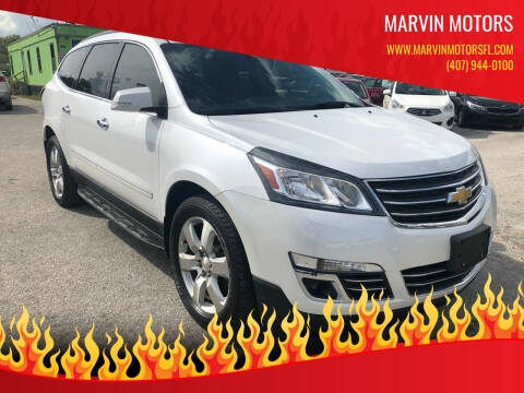 2017 Chevrolet Traverse for sale at Marvin Motors in Kissimmee FL