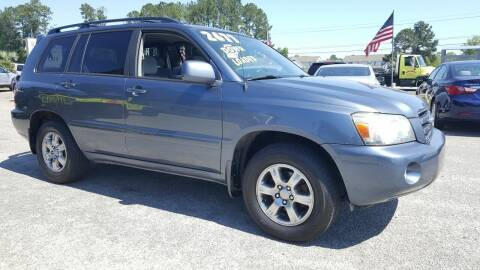 2007 Toyota Highlander for sale at Rodgers Enterprises in North Charleston SC