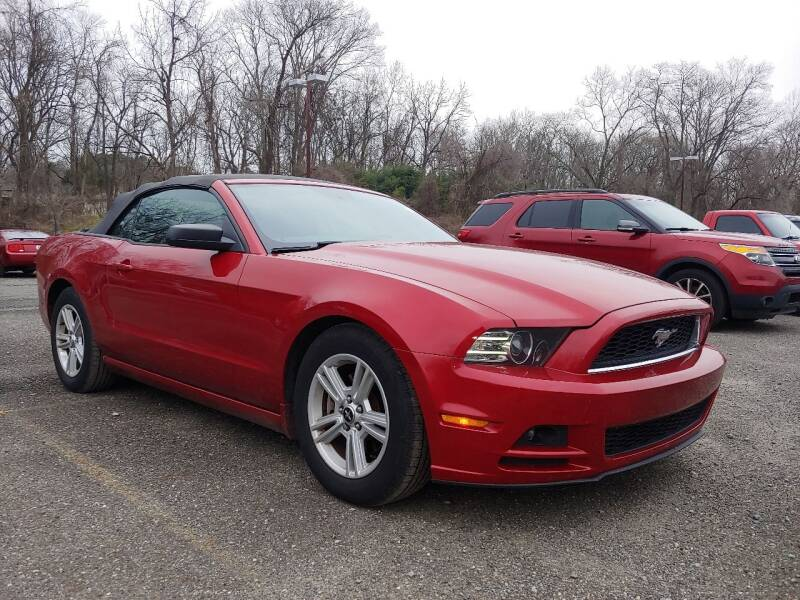 2013 Ford Mustang for sale at Motor Pool Operations in Hainesport NJ