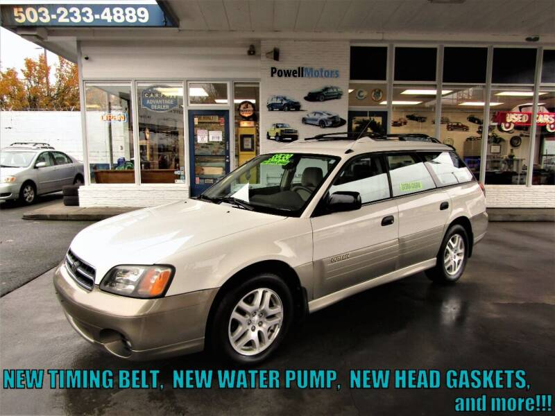 2001 Subaru Outback for sale at Powell Motors Inc in Portland OR