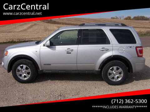 2008 Ford Escape for sale at CarzCentral in Estherville IA