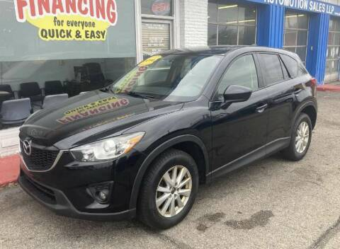 2014 Mazda CX-5 for sale at AutoMotion Sales in Franklin OH