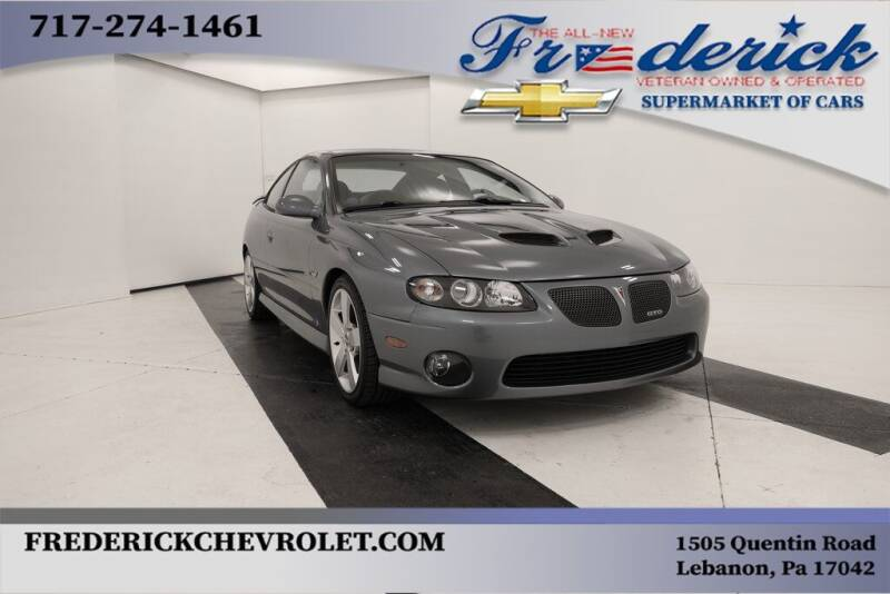 2006 Pontiac GTO for sale at Lancaster Pre-Owned in Lancaster PA