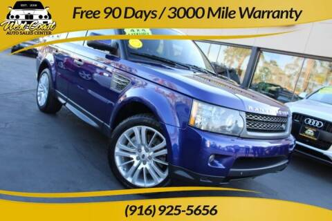 2011 Land Rover Range Rover Sport for sale at West Coast Auto Sales Center in Sacramento CA