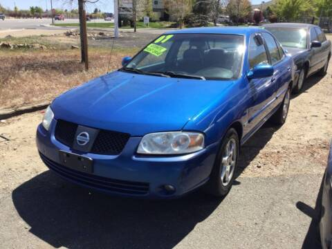 2006 Nissan Sentra for sale at Small Car Motors in Carson City NV
