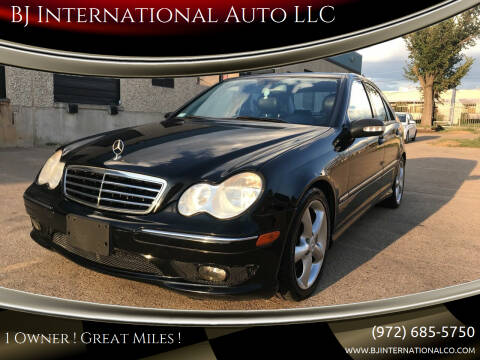 2006 Mercedes-Benz C-Class for sale at BJ International Auto LLC in Dallas TX