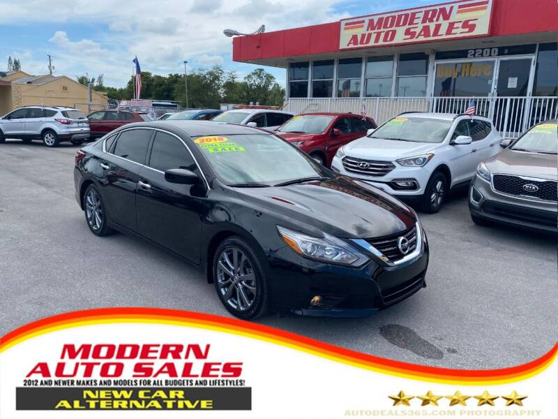 2018 Nissan Altima for sale at Modern Auto Sales in Hollywood FL