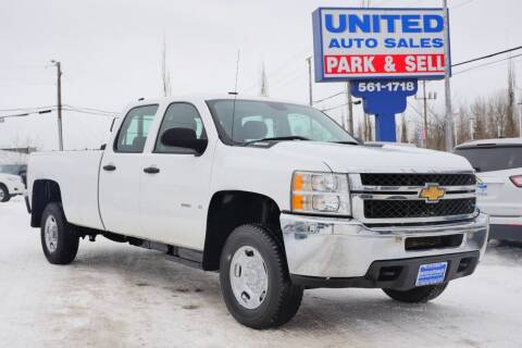 2011 Chevrolet Silverado 2500HD for sale at United Auto Sales in Anchorage AK