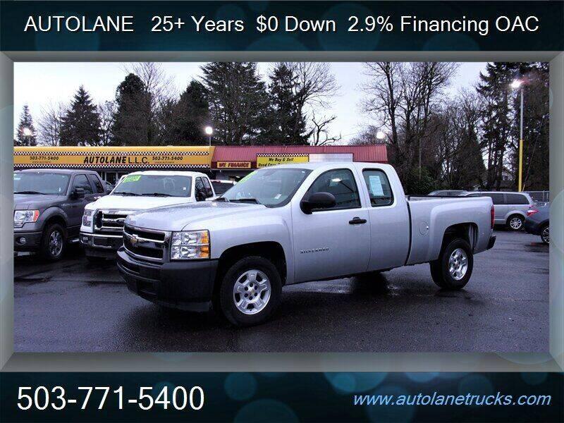 2012 Chevrolet Silverado 1500 for sale at Auto Lane in Portland OR
