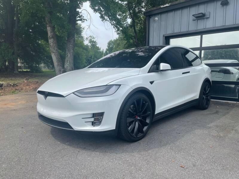 2018 Tesla Model X for sale at Luxury Auto Company in Cornelius NC