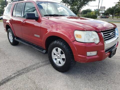 2008 Ford Explorer for sale at ZNM Motors in Irving TX