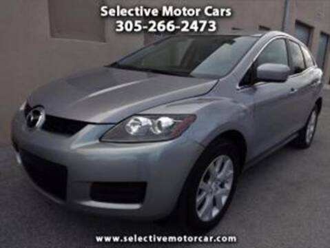 2009 Mazda CX-7 for sale at Selective Motor Cars in Miami FL