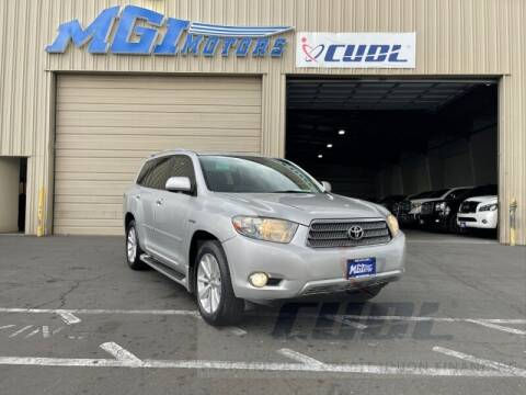 2010 Toyota Highlander Hybrid for sale at MGI Motors in Sacramento CA