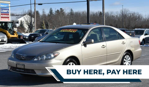2005 Toyota Camry for sale at Broadway Motor Car Inc. in Rensselaer NY