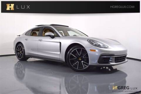 2018 Porsche Panamera for sale at HGREG LUX EXCLUSIVE MOTORCARS in Pompano Beach FL
