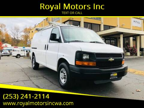 2010 Chevrolet Express Cargo for sale at Royal Motors Inc in Kent WA