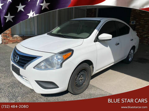 2016 Nissan Versa for sale at Blue Star Cars in Jamesburg NJ