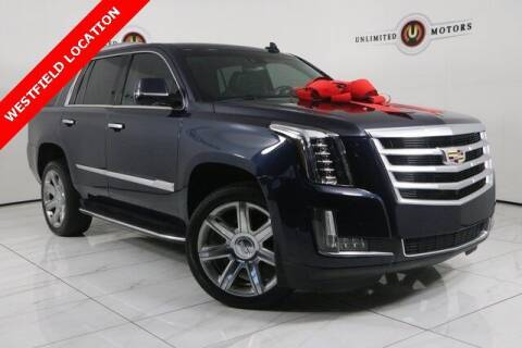 2017 Cadillac Escalade for sale at INDY'S UNLIMITED MOTORS - UNLIMITED MOTORS in Westfield IN
