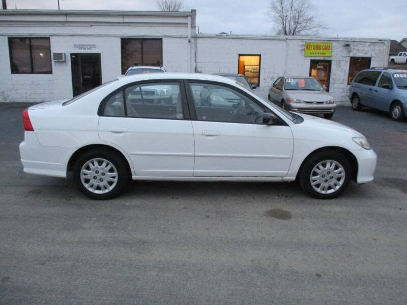 2005 Honda Civic for sale at KEY USED CARS LTD in Crystal Lake IL