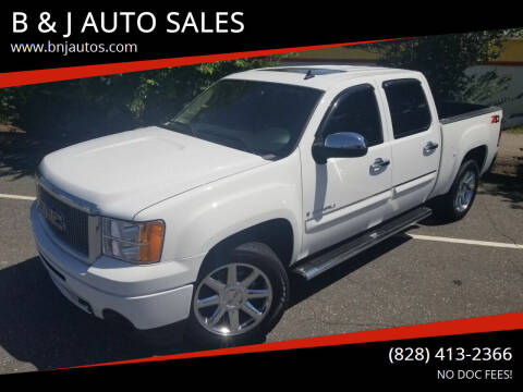2008 GMC Sierra 1500 for sale at B & J AUTO SALES in Morganton NC