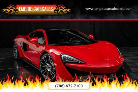 2017 McLaren 570GT for sale at Empire Car Sales in Miami FL