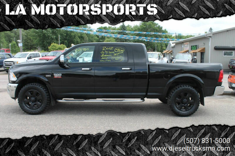 2012 RAM Ram Pickup 2500 for sale at LA MOTORSPORTS in Windom MN