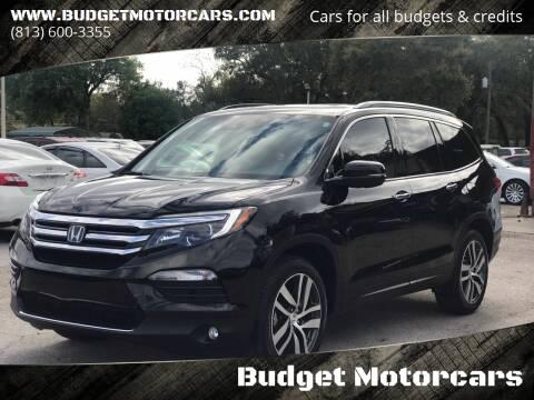 2016 Honda Pilot for sale at Budget Motorcars in Tampa FL