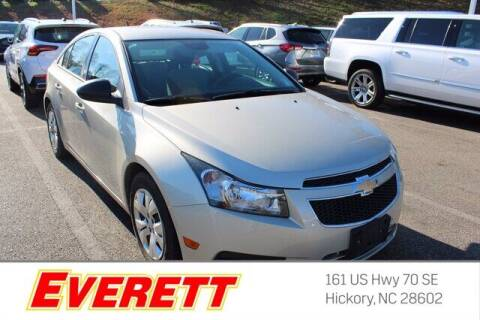 2014 Chevrolet Cruze for sale at Everett Chevrolet Buick GMC in Hickory NC