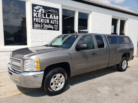 2013 Chevrolet Silverado 1500 for sale at Kellam Premium Auto Sales & Detailing LLC in Loudon TN