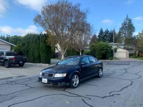 2004 Audi A4 for sale at Blue Eagle Motors in Fremont CA