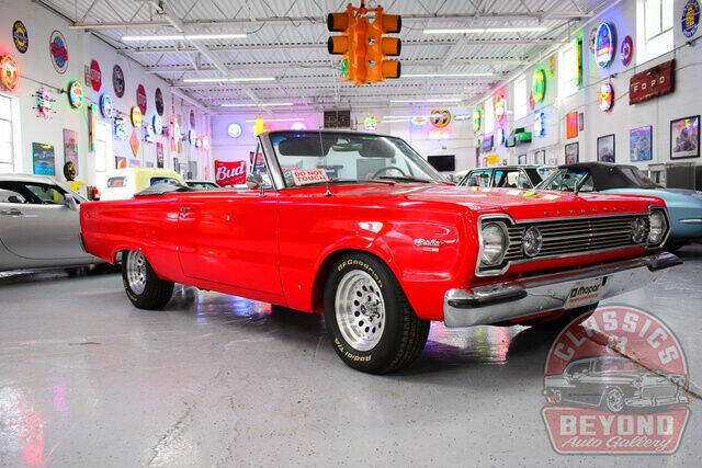 1966 Plymouth Satellite for sale at Classics and Beyond Auto Gallery in Wayne MI